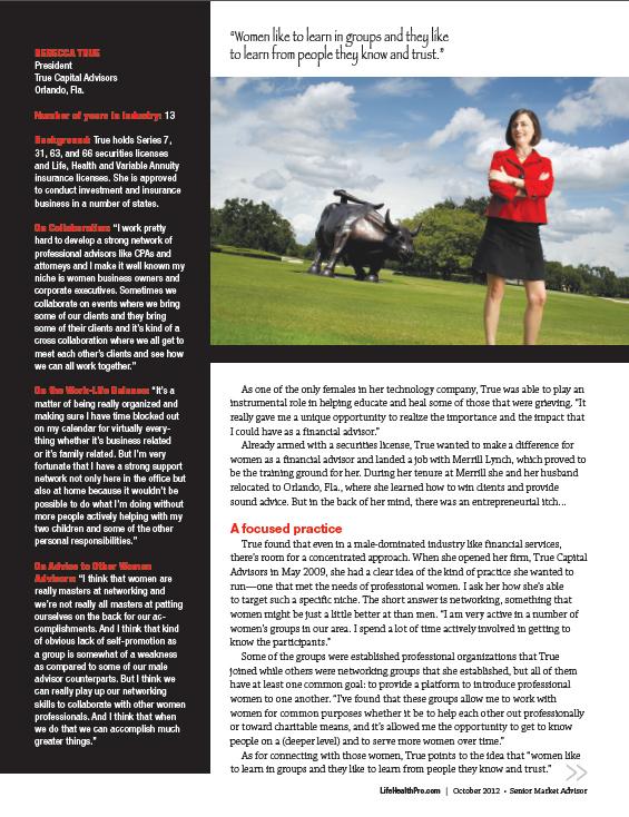 True Capital Advisors Magazine Feature – Shout Out, LLC